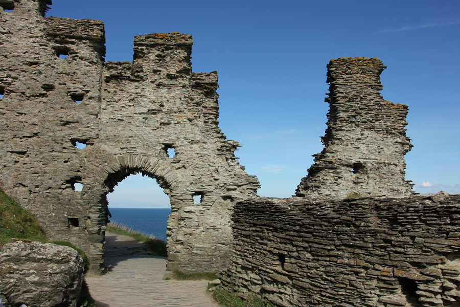 Südengland Roadtrip Cornwall Tintagel Castle