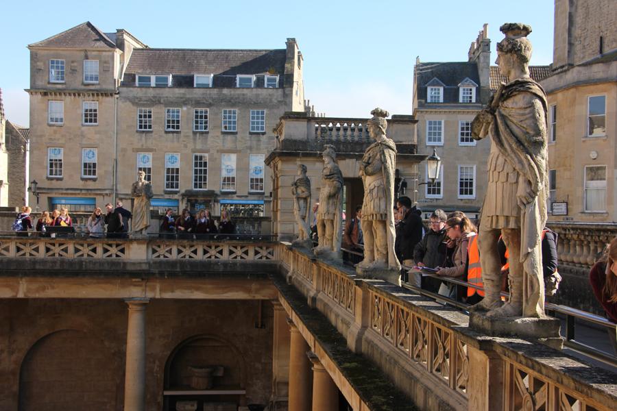 Südengland Roadtrip Bath und Bristol, die römischen Bäder von Bath