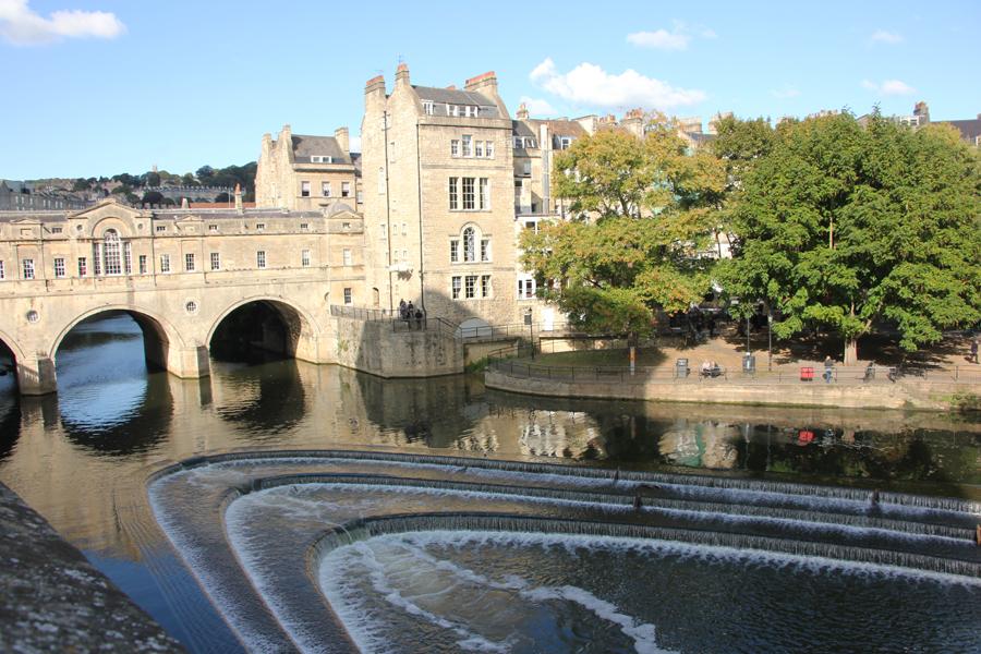 Südengland Roadtrip Bath und Bristol, Pulteney Brücke