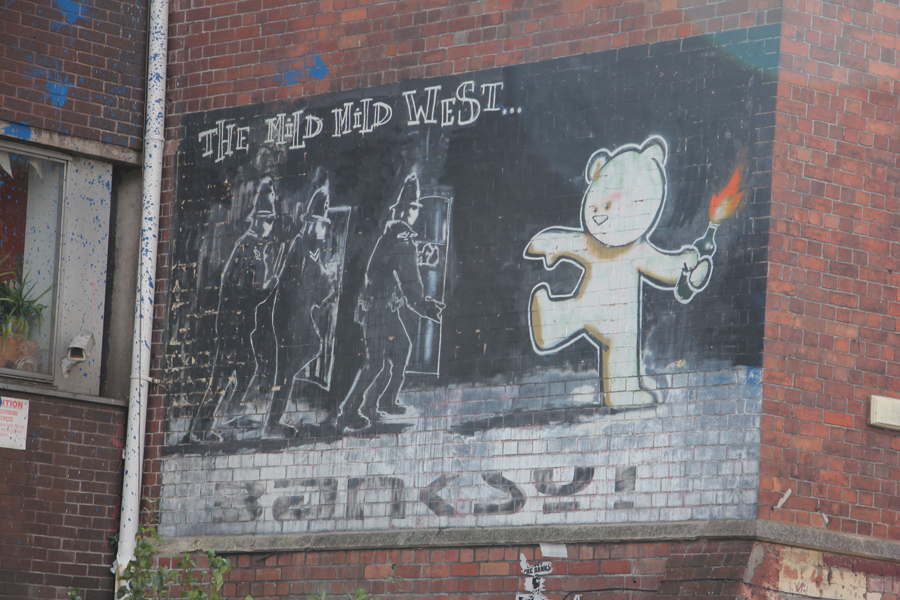 Südengland Roadtrip Bath und Bristol, Street Art von Banksy