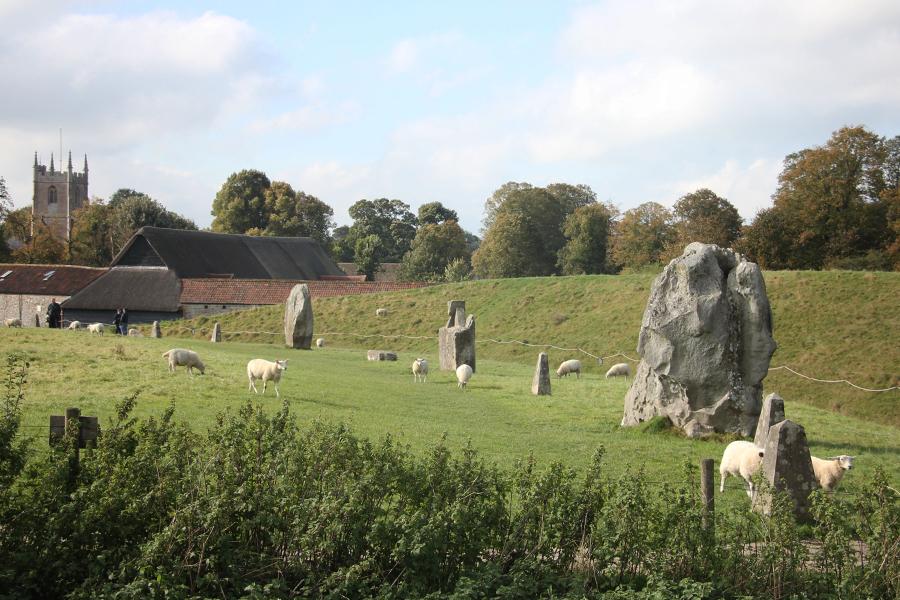 Südengland Roadtrip Steinkreise von Avebury
