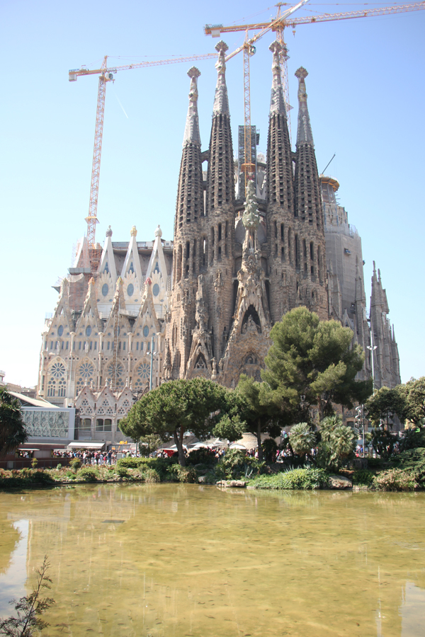Besuch in Barcelona Sagrada Familia