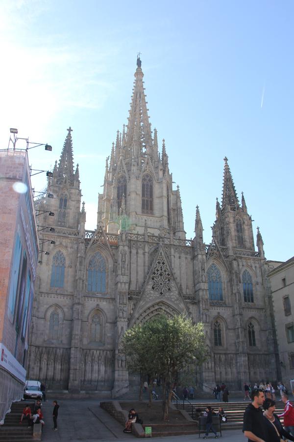 Besuch in Barcelona