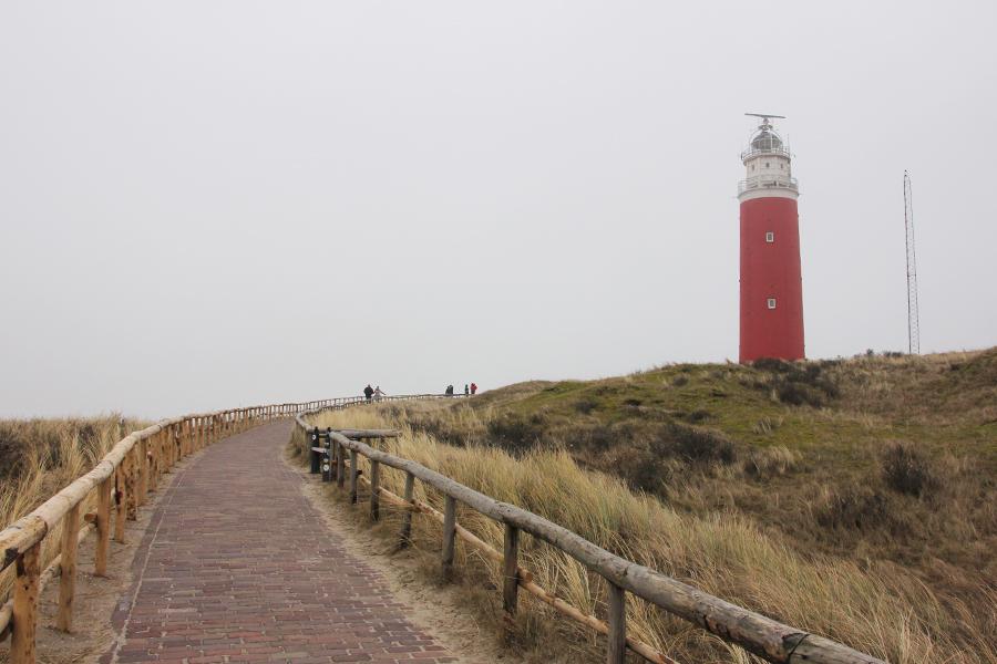 Ein Wochenende auf Texel, Leuchtturm