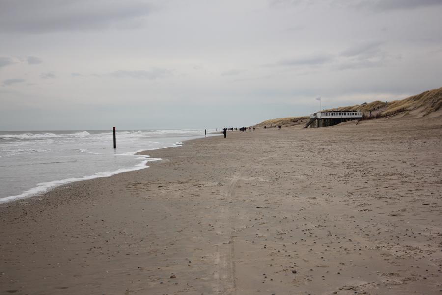 Ein Wochenende auf Texel, Strand
