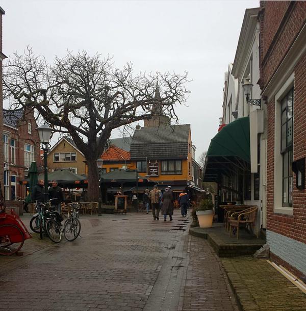 Ein Wochenende auf Texel, Den Burg