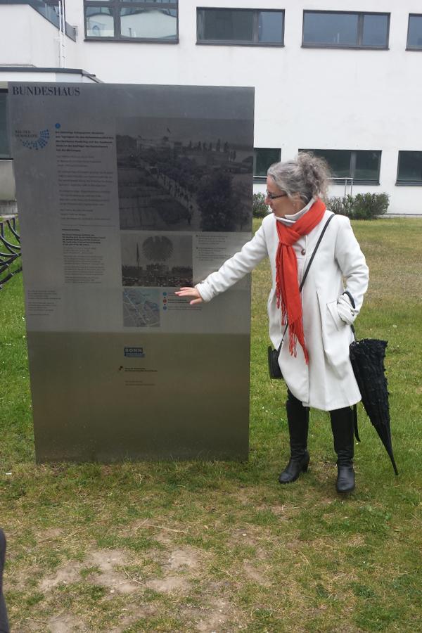 Reiseblogger Treffen Bonn Führung durch das Regierungsviertel