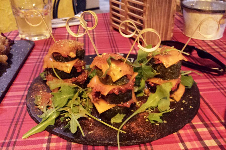 Vegan in Barcelona Bar Celoneta Tapas