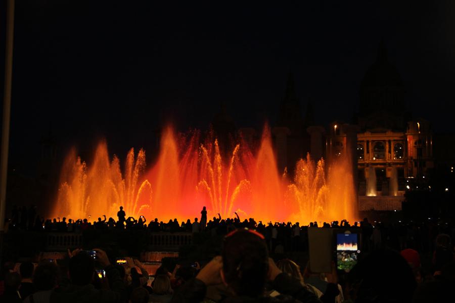 Barcelona Font Magica Lichtspiele