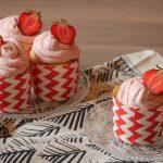 Rezept: vegane Erdbeer Cupcakes