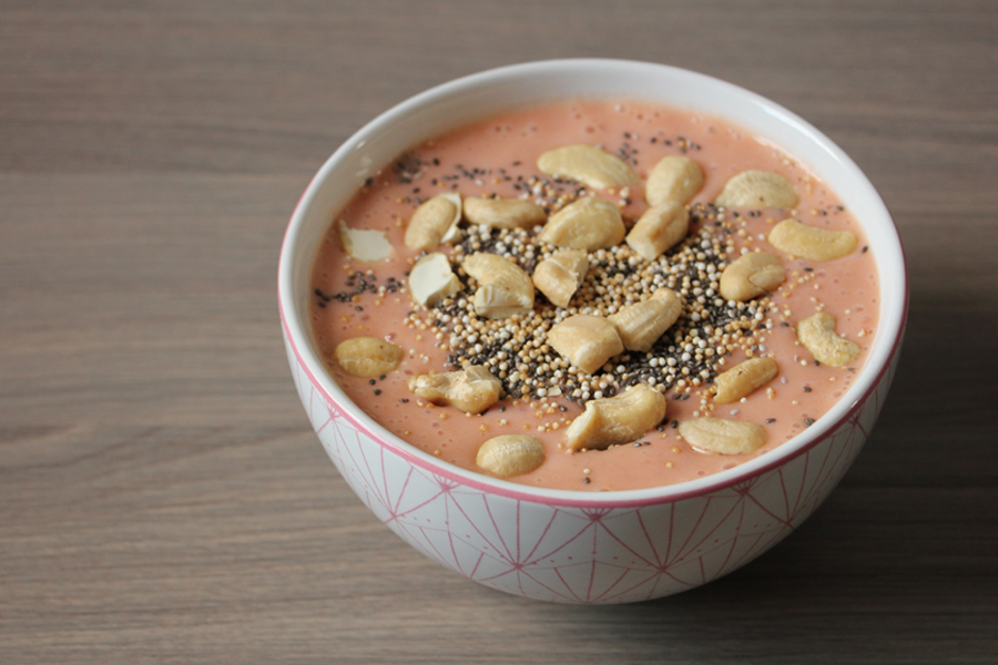 Aprikosen Smoothie Bowl