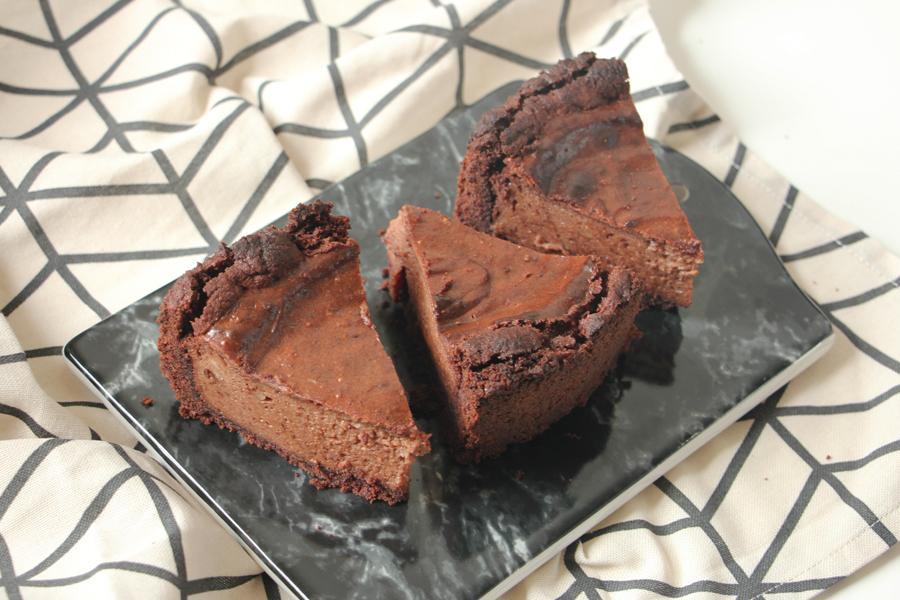 veganer Schoko-Cheesecake