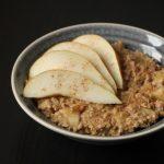 Rezept: Apfel-Birnen Porridge