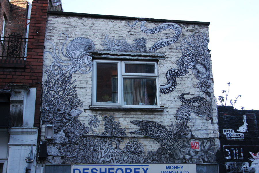 Street-Art in Südengland, London