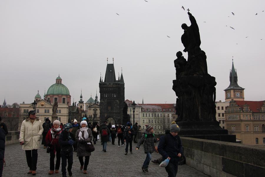 Ein Wochenende in Prag im Advent, Karlsbrücke