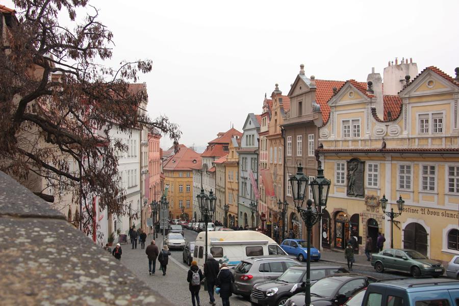 Ein Wochenende in Prag im Advent, Kleinseite