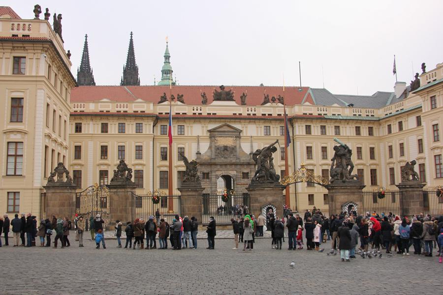 Ein Wochenende in Prag im Advent, Prager Burg