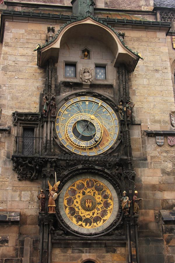 Ein Wochenende in Prag im Advent, Astronomische Uhr