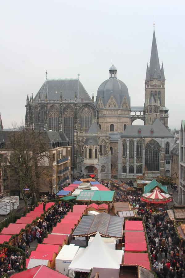 Aachen im Advent, Aachener Dom
