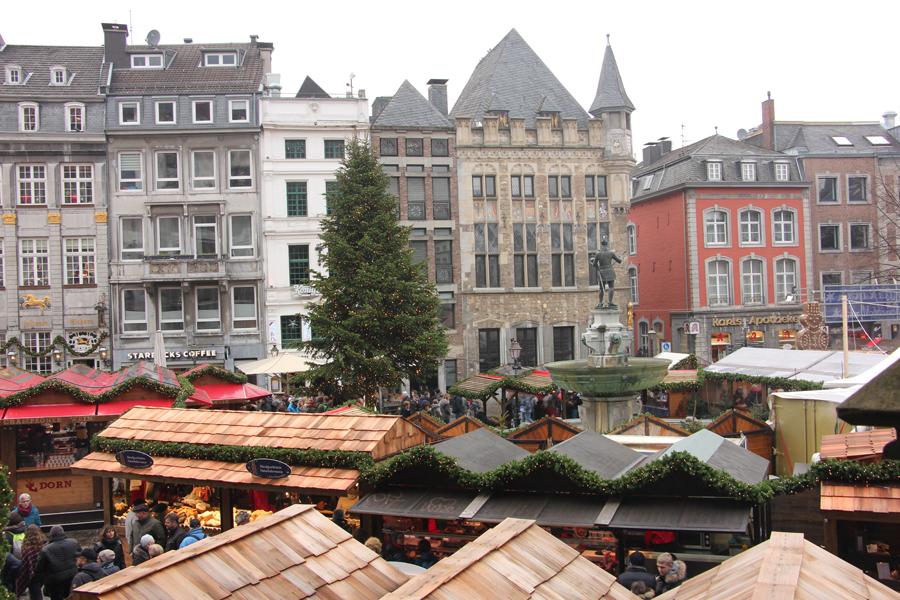Aachen im Advent, Weihnachtsmarkt