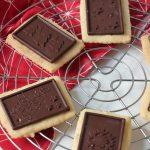 Rezept: weihnachtliche Schoko-Butterkekse