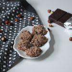 Rezept: vegane Schoko-Nuss Makronen