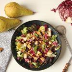 Rezept: Salat mit Radicchio, Rote Bete und Birne