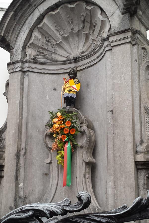 Ein Tag in Brüssel, Manneken Pis