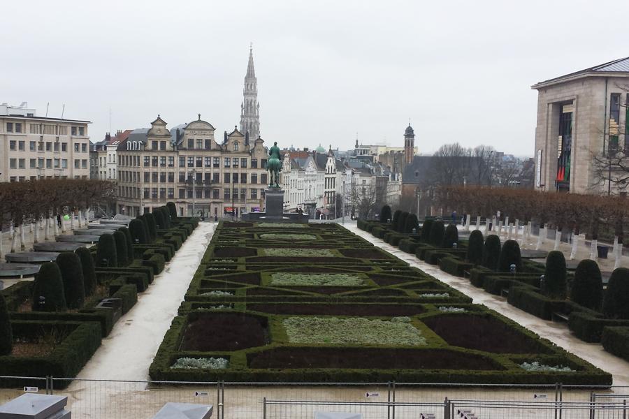 Ein Tag in Brüssel, Mont des Arts