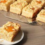 Rezept: Aprikosen Quark Kuchen mit Streuseln