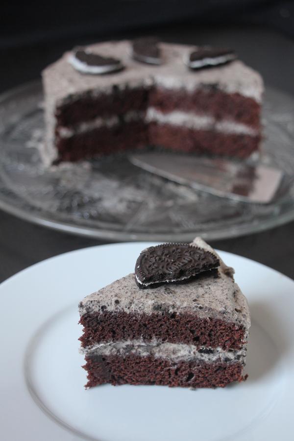 vegane Oreo Torte