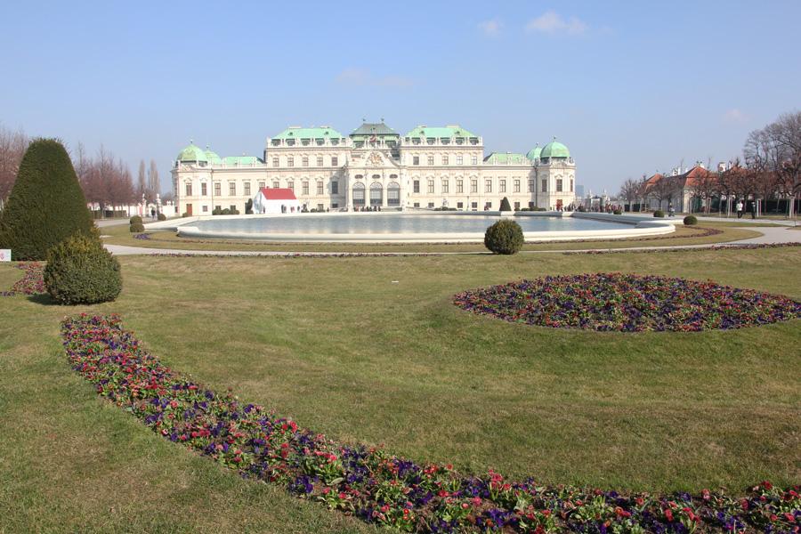 Wien Kurztrip, Schloss Belvedere