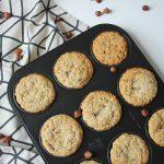 Rezept: Haselnussmuffins mit Nougatkern