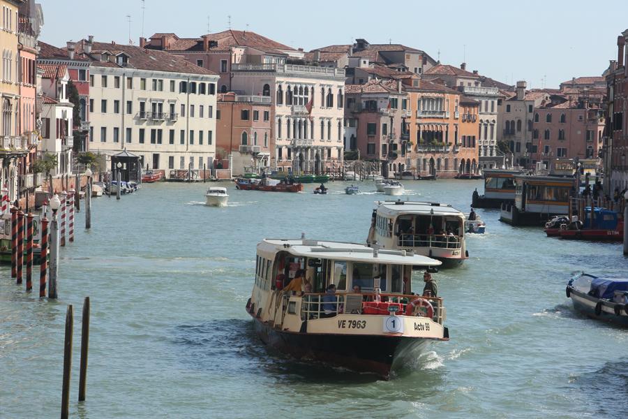 Kurztrip Venedig, Canal Grande