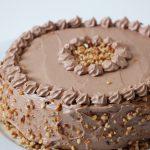 Rezept: vegane Schoko Nuss Torte