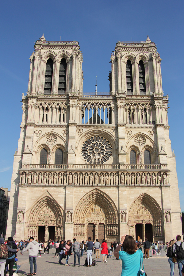 Notre Dame auf der Ile de la Cite in Paris
