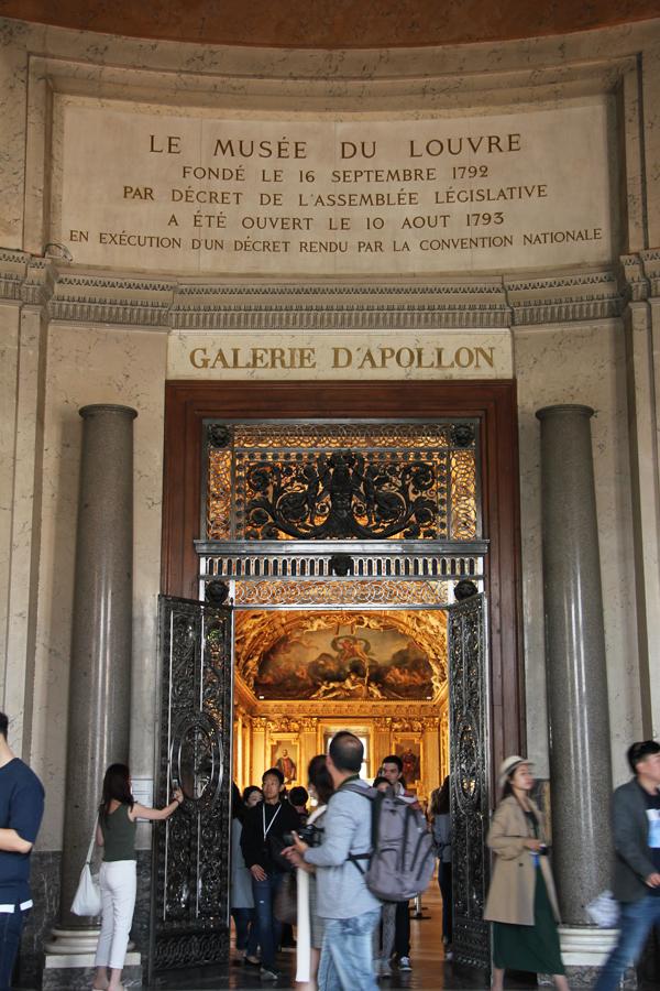 Der Louvre lohnt auch aufgrud der Architektur einen Besuch.