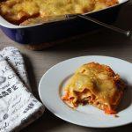 Rezept: Einfache vegane Lasagne mit Tofubolognese