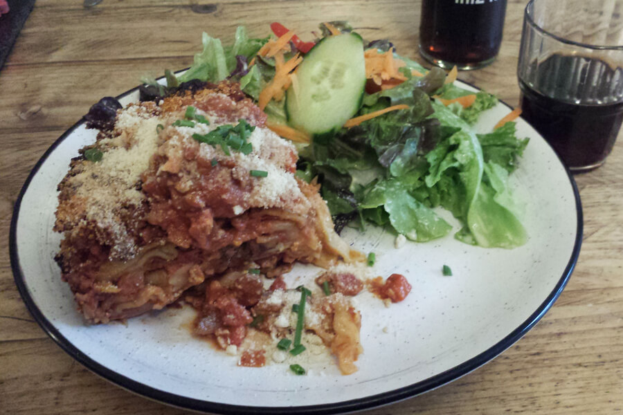 vegane Lasagne bei Siggis
