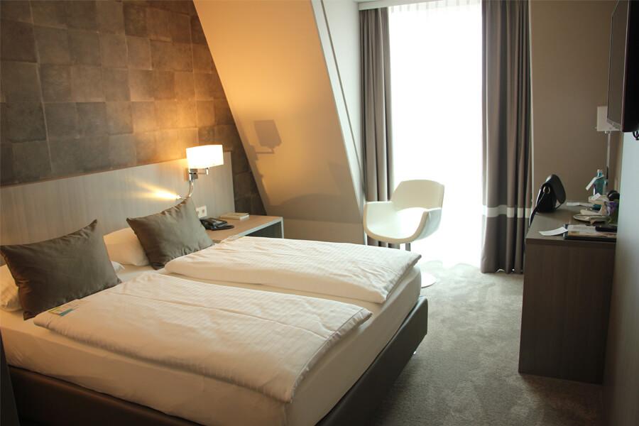 Mein Zimmer im Relexa Hotel München