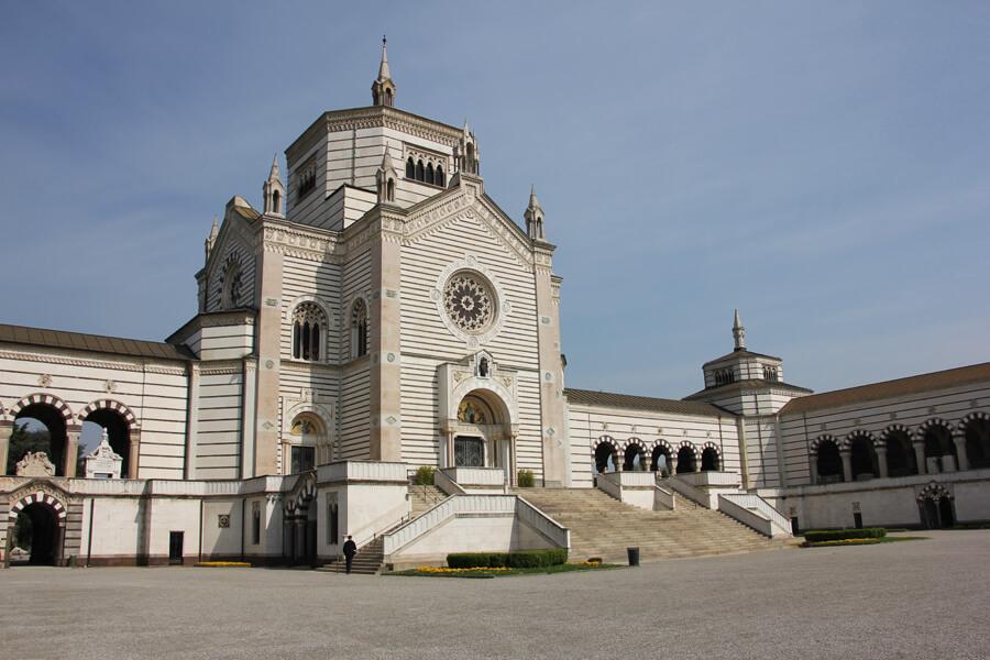 Gebäude am Cimitero Monumentale