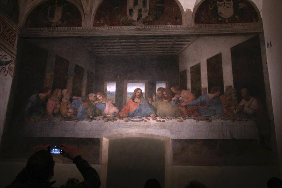 Das letze Abendmahl von Leonardo da Vinci