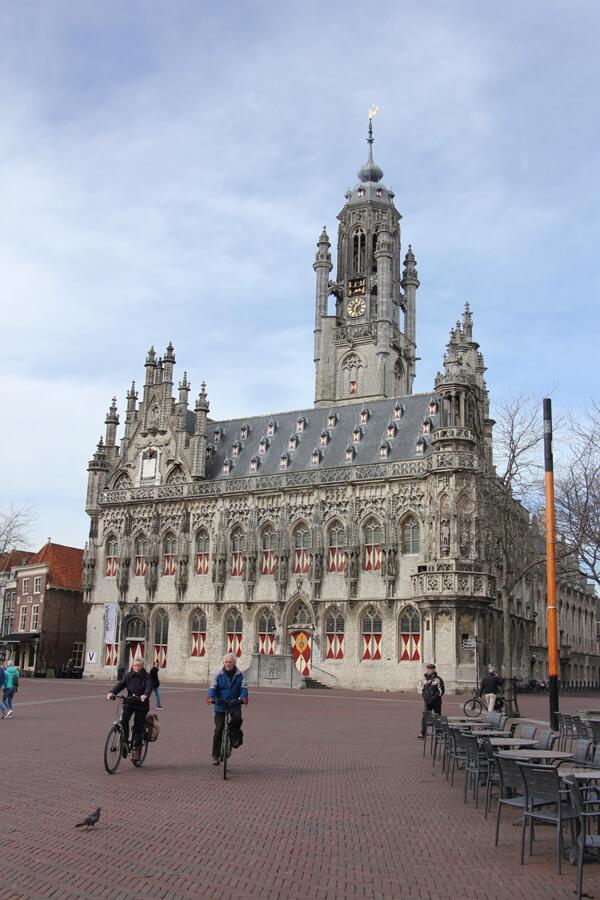 Das Stadhuis in Middelburg