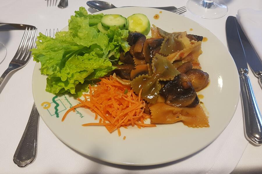 vegane Pasta am italienischen Abend