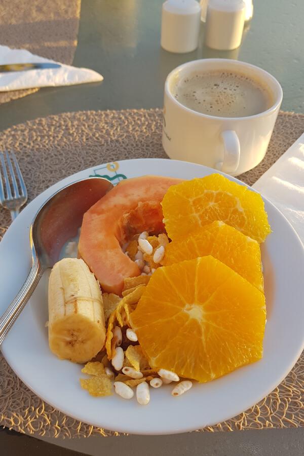 veganes Frühstück im Madeira Panoramico
