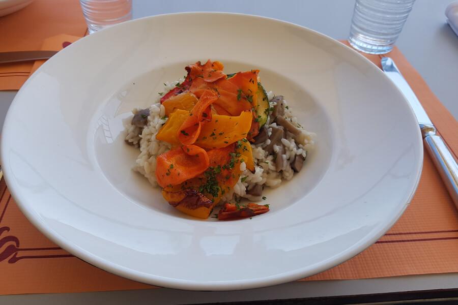 veganes Gemüse Risotto