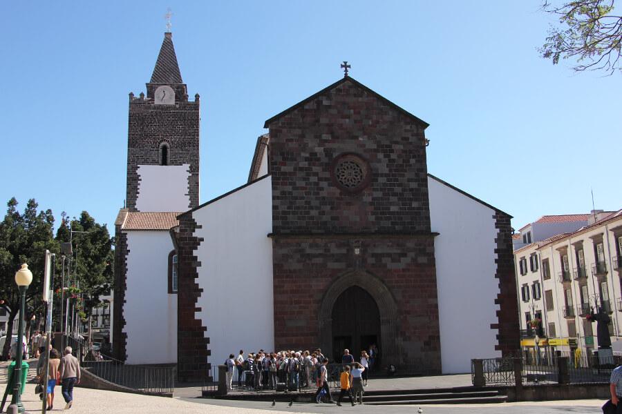 Die Kathedrale von Funchal.