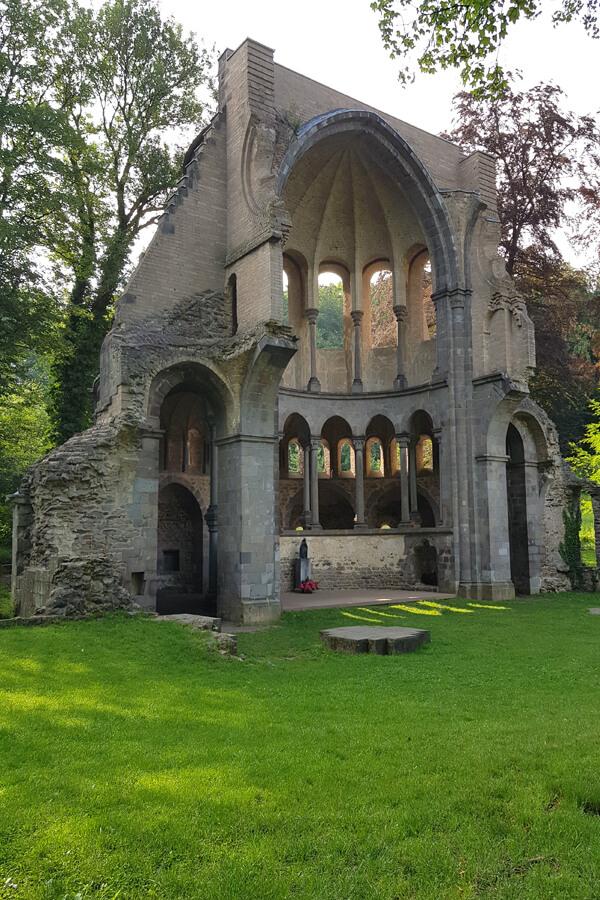 Klosterruine Heisterbach.