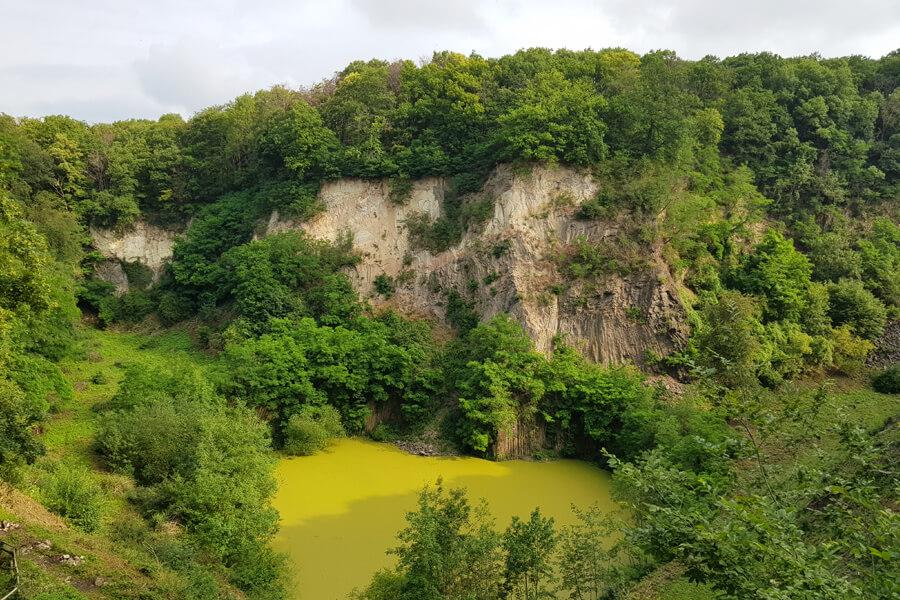Steinbruch auf dem Weilberg.