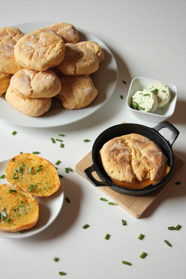 Süßkartoffel Brötchen